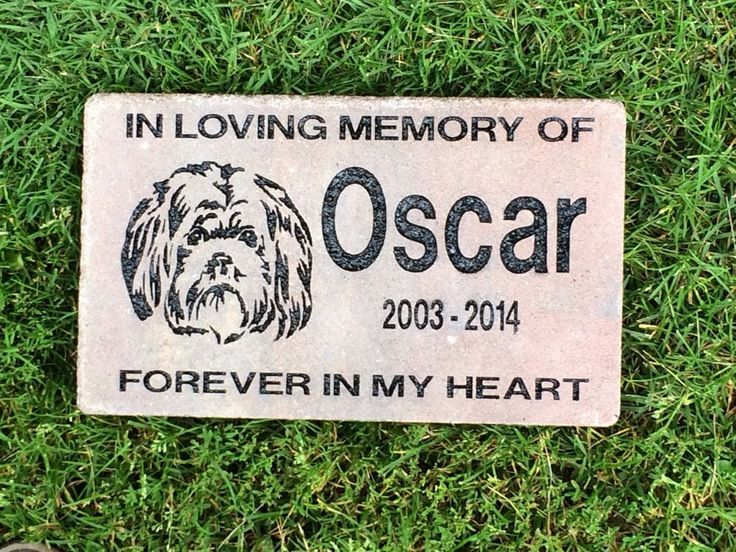 8 X 13 Pet Grave Marker  Large Brick Paver New England Blend Color #Cambridge