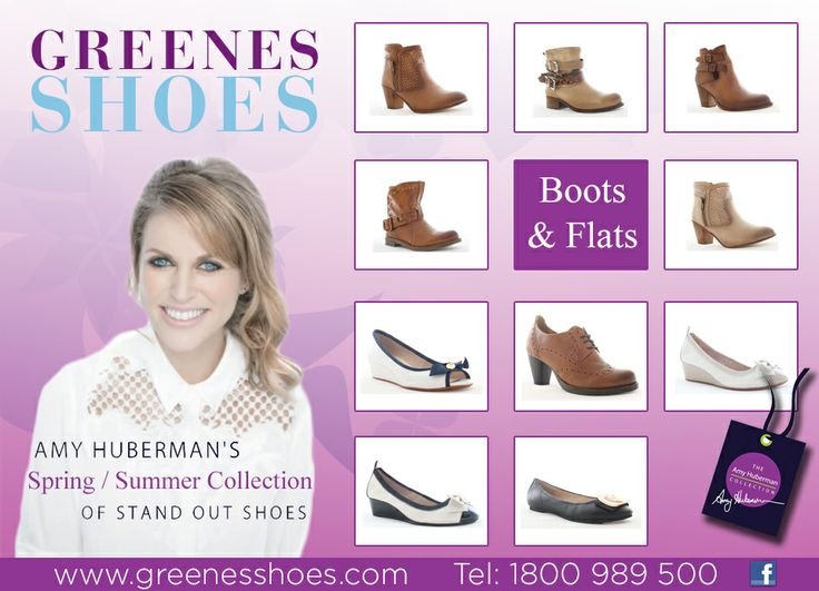 www.greenesshoes.com Amy Huberman Shoes Galway Amy Huberman Shoes Limerick Amy Huberman Shoes Letterkenny