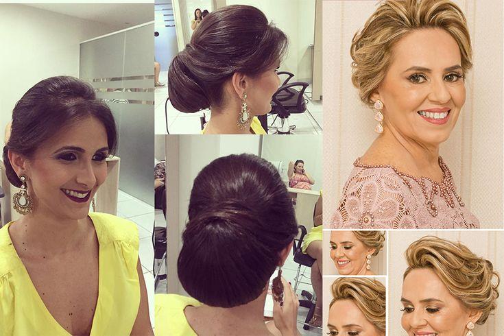 Sugestões de penteados para as mães dos noivos - Universo das Noivas