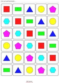 Ilmaisia tulostettavia kortteja matematiikkaan; muotoja, numeroita, Maths Cards.