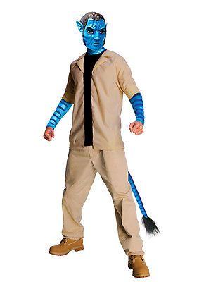 Adult avatar jake sully #fancy #dress #costume mens gents male alien bn,  View more on the LINK: http://www.zeppy.io/product/gb/2/190921898128/