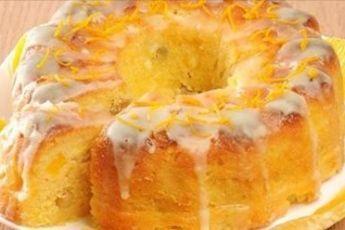 Постный апельсиновый кекс. Невероятно вкусная выпечка