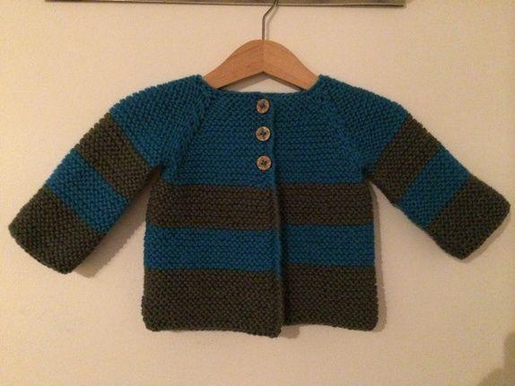 Stripete genser Epla