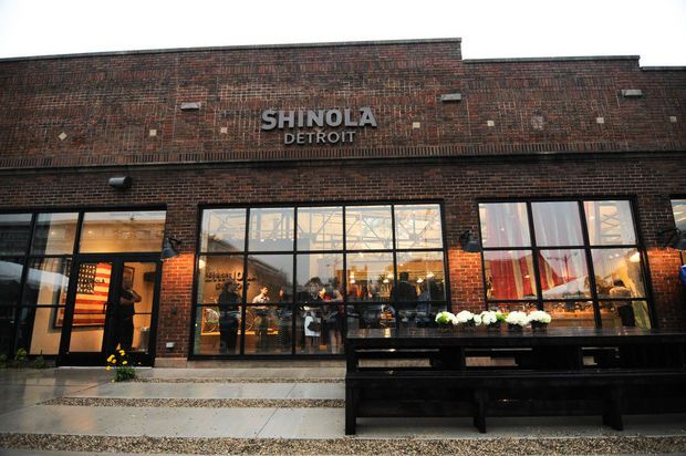 Shinola's Detroit flagship store opens to public today