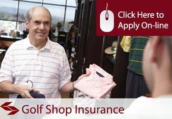 golf equipment shop insurance quote