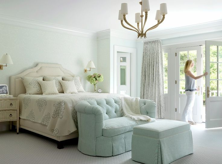 17 best images about my sea foam green room ideas on for Sea green bedroom designs