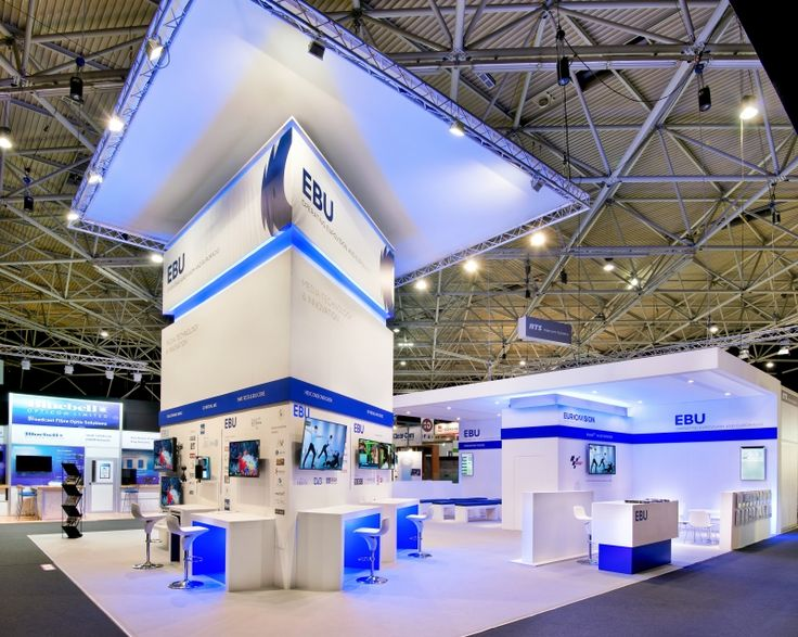 Design exhibition stand for Ebu Technical at the exhibition IBC 2014