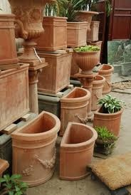 Terra Cotta Planters And Wall Planters On Pinterest