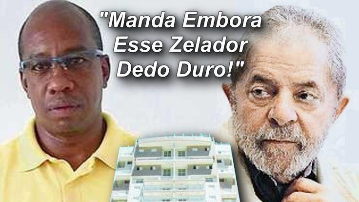 Lula Detona Vida do Zelador do Triplex do Guarujá!!! Morte a Elite Branc...