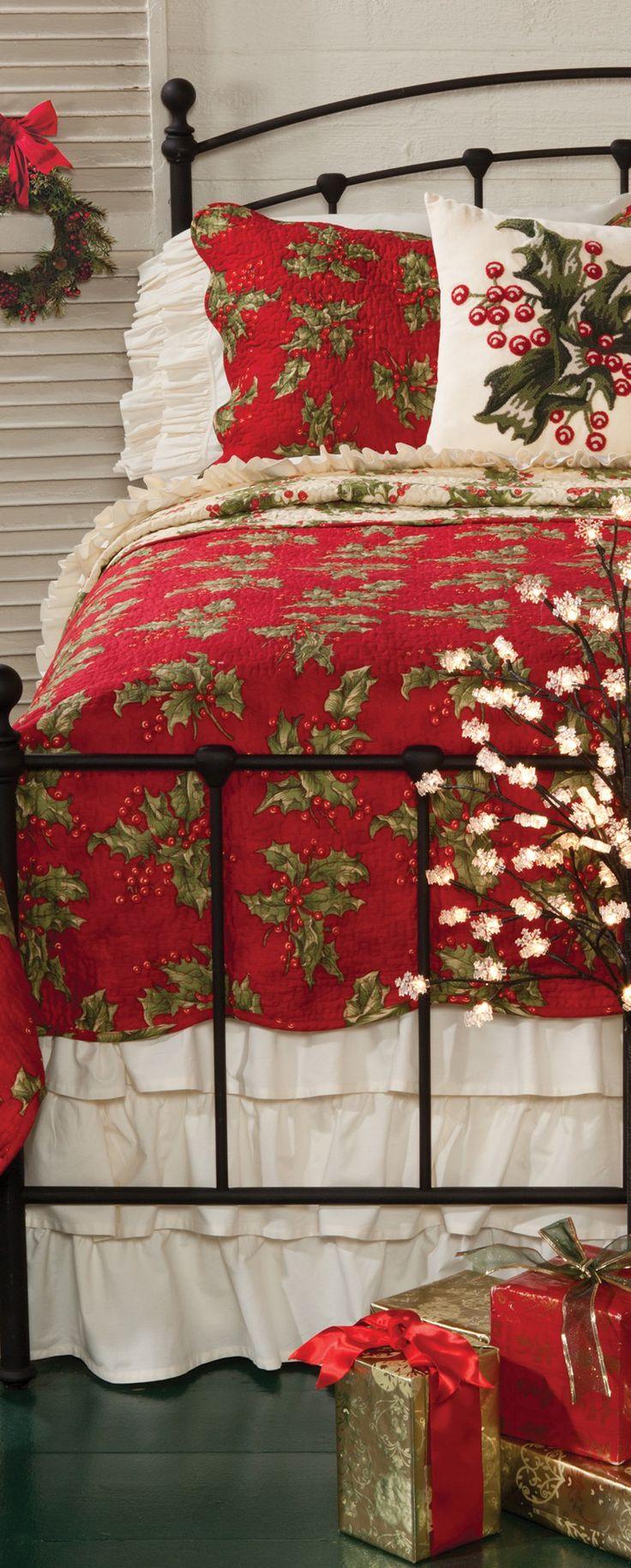 Rustic Christmas Bedding Collection | Christmas Decor