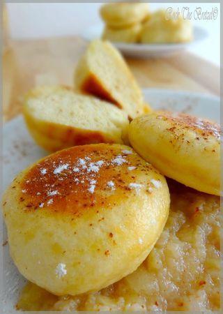 Dampfnudle (petits pains cuits à la vapeur)