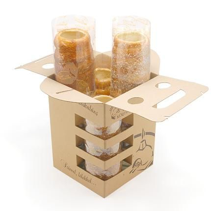 A company in Hungary making and selling Kurtos called Vitéz Kürtös have made this box so that they can sell Kurtos as a souvenir.
