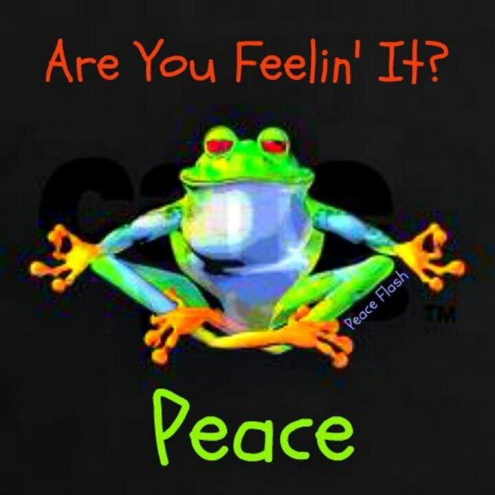 R u feeling the peace