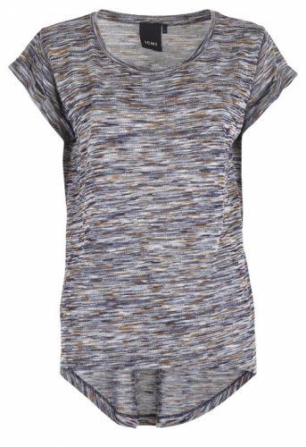 ICHI Katira T-shirt Navy - T-shirts - MaMilla