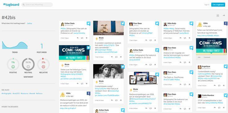 Mijn eerste #blog voor @42bis, 6 #tools om #hashtags te beheren. Veel leesplezier: http://ow.ly/JUAD7