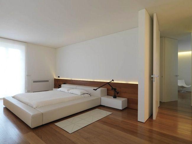 """Minimalist bedroom @ Tvoy Designer Blog Спальни в стиле минимализм в блоге """"Твой Дизайнер"""" #minimalist #interiordesign #bedroom"""