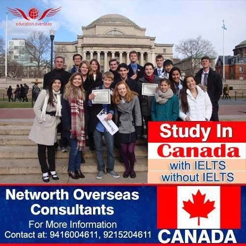 For Those Who Seek Higher Education For Canada Overseas