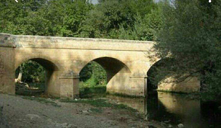 Bridge-Ahmet Ağa bridge-Constructive: Haji İbrahim on behalf of Haji Ahmet Aga-Built year: 1755-Repair: Haji İbrahim-Repair year: 1861-Sürgücü-Savur-Mardin
