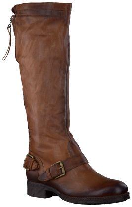 Bruine Mjus - Omoda Lange laarzen 178342
