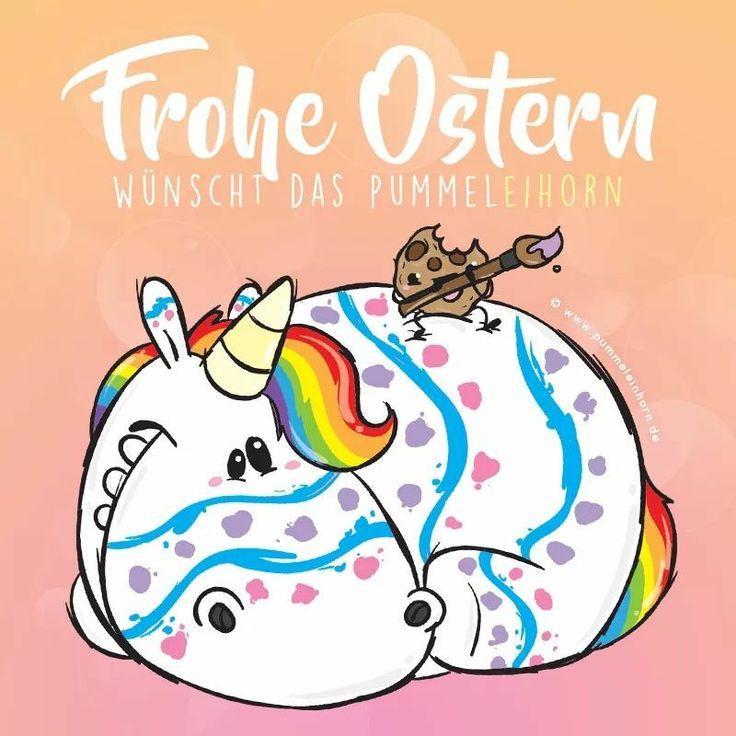 Pummeleinhorn wünscht Frohe Ostern!