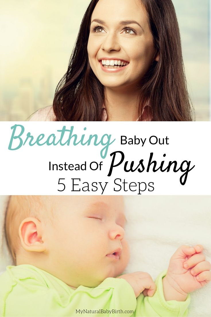 Breathing your baby out during birth sounds SO much better than pushing! I plan on trying to do this during my labor and delivery. mynaturalbabybirt...