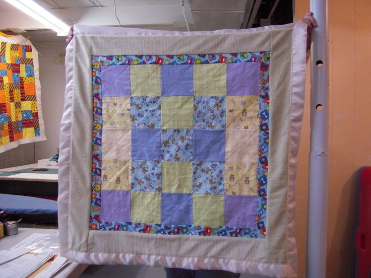 quilt for a baby