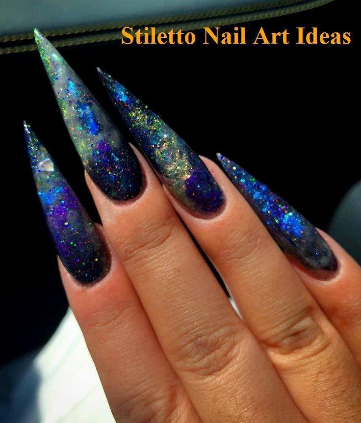 10+ beliebte Acrylnägel, die Sie inspirieren – Creative Stiletto Nails Designs