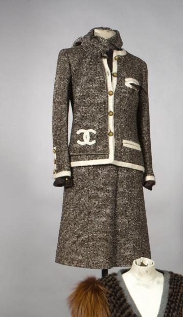 Chanel 1960 | Ventes aux enchères CHANEL, HAUTE COUTURE, N°42603, CIRCA 1960