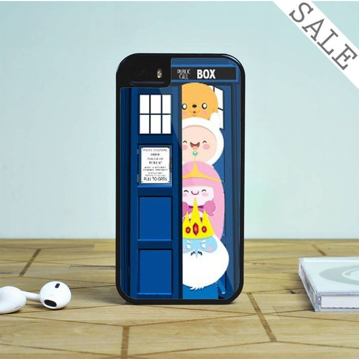 all character adventure time in tardis dr who For iPhone | Samsung Galaxy | HTC Case