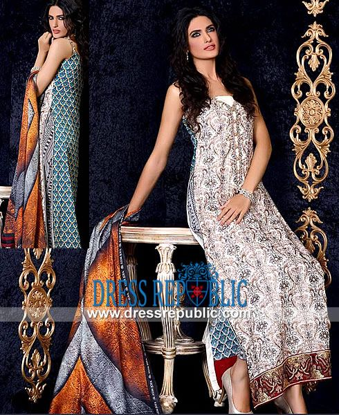 Asim Jofa Luxury Lawn Collection 2014 Lawn on Sale: Shop Online Asim Jofa Luxury Lawn Collection 2014 in Jersey City, New Jersey. Call New York (347) 404 5789. by www.dressrepublic.com