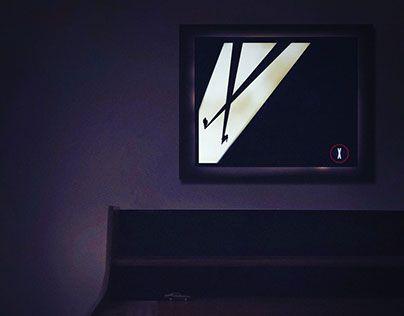 "Check out new work on my @Behance portfolio: ""x - files handmade lamp"" http://be.net/gallery/33296621/x-files-handmade-lamp"