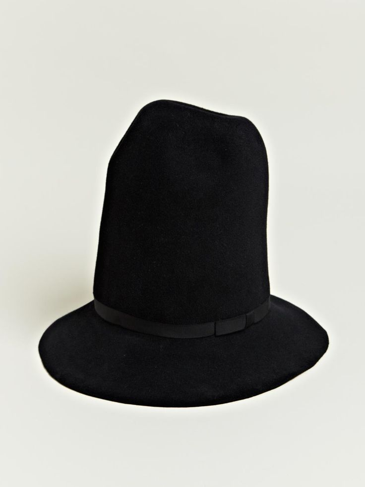 Yohji Yamamoto Men's Felt Mountain Hat