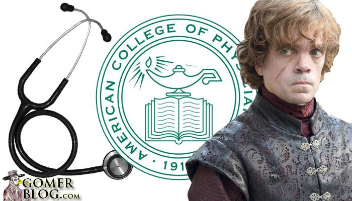 If Internal Medicine was a Game of Thrones Character it would be Tyron Lannister – Quick witted and a strong intellect. Unfortunately you are always dumped on.