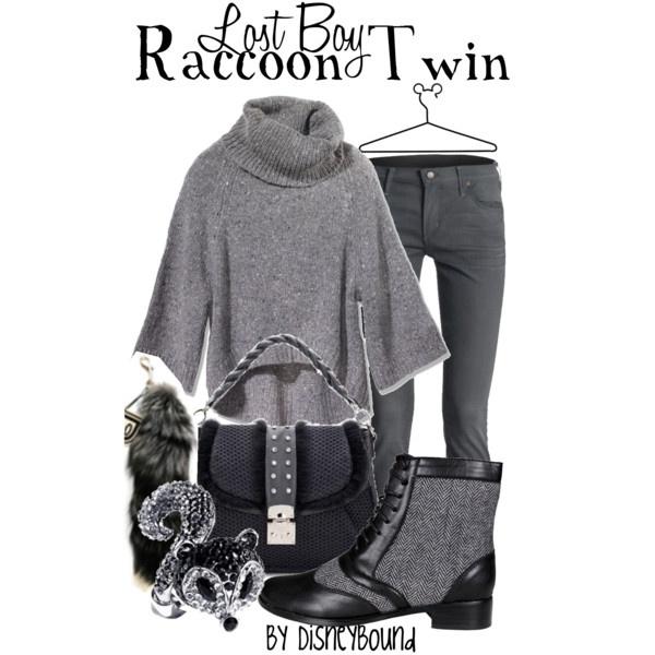 dress like your favorite disney character: Lost Boy - Racoon Twin