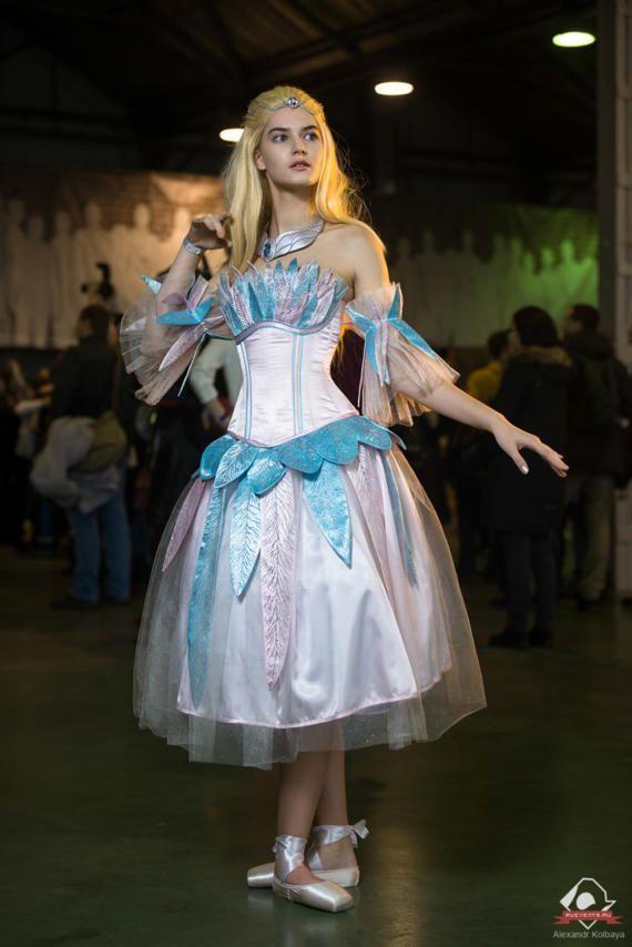 Roze pop geïnspireerde jurk ter volgorde, Halloween kostuum, Cosplay volwassen, prinses jurk, partij kostuum, blauwe cosplay jurk, kostuum volwassen