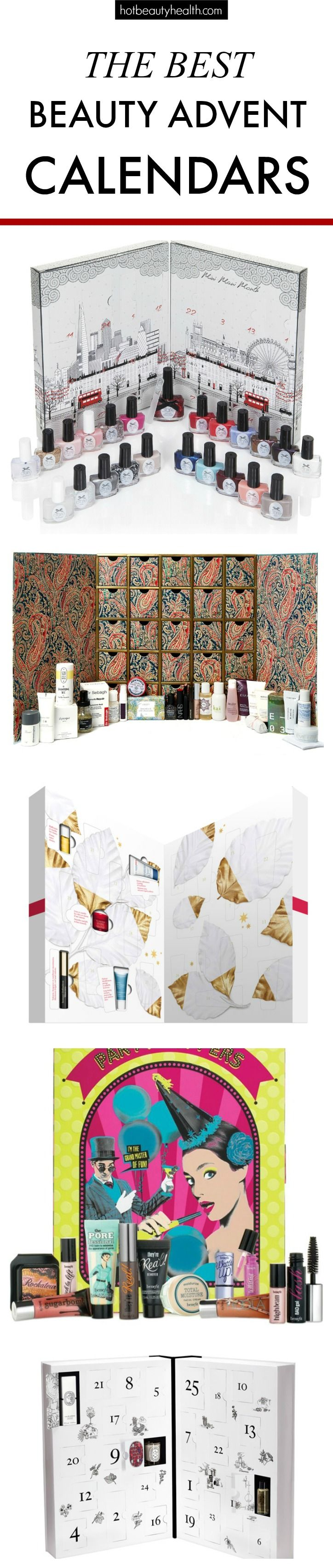 Looking for Christmas gift ideas for her? Check out this huge list of beauty advent calendars!
