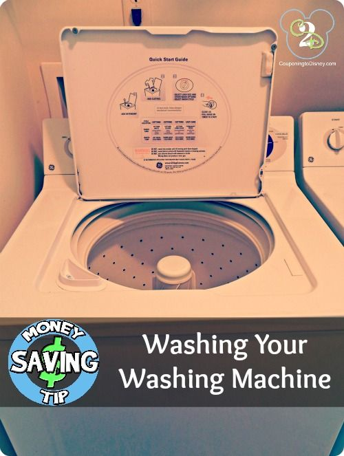 Well I didn't know you were suppose to wash your washing machine. I need to do this now!