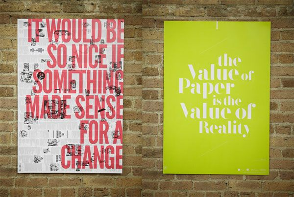 Brandt Brinkerhoff and Katherine Walker for AIGA Chicago.