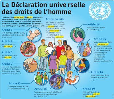 CestFranc :  Activités FLE pour la journée internationale des droits de l'homme http://apfvalblog.blogspot.com.es/2016/12/activites-fle-pour-la-journee.html