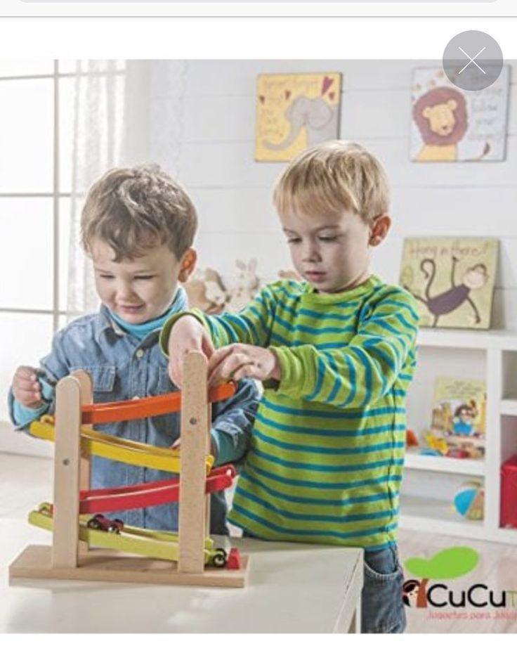 Preparados listos ya!! arrancan los motores y empieza el descenso a velocidades increíbles! #cucutoys #everearth #juguetes #niños #toys #madera #wood #coches #cars #kids #ecologico  http://ift.tt/2fTHdoN