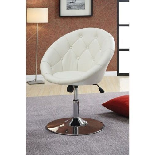 Vanity Stool Swivel Round Chair Elegant Bedroom Furniture Salon Adjustable Seat…