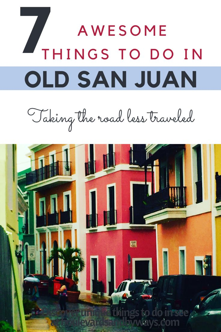 So much history and beauty in Old San Juan. From forts, to food, to fountains, here's the ultimate guide for what to see and do in Old San Juan. http://boulevardsandbyways.com/blog/7-amazing-things-old-san-juan-puerto-rico/ #oldsanjuan, #fortmorro #history #sancristobal #redgate