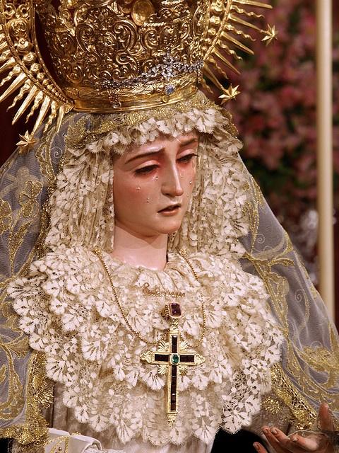 Ntra Sra del Subterraneo (Hdad de la cena,Sevilla) Festividad de la Inmaculada. by oscarpuigdevall, via Flickr