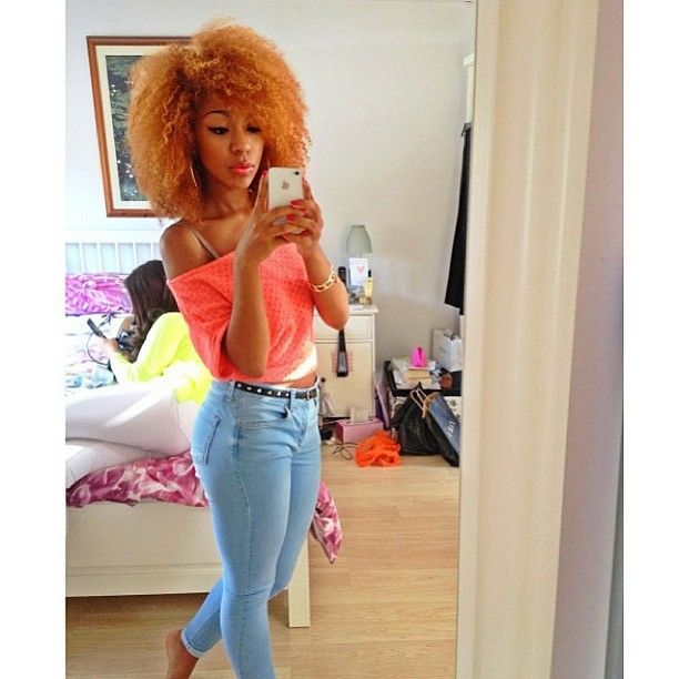 Fantastic 1000 Images About Black Girls Blonde Hair On Pinterest Hairstyles For Women Draintrainus