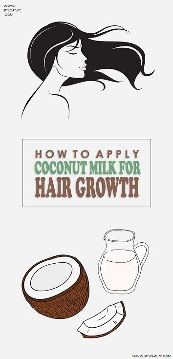 How to Use and Apply Coconut Milk for Hair Growth?