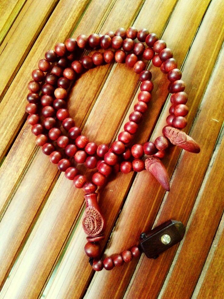 Handmade muslim prayer beads wooden tasbih beads (99)