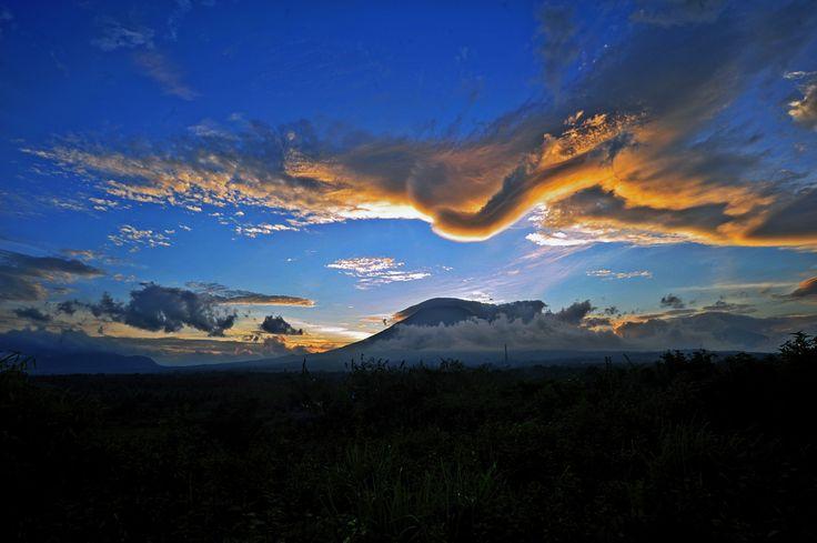 Ketika Senja di sroyo Temanggung #temanggung,#landscapetemanggung