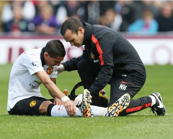 Britain's most expensive footballer Angel Di Maria fails to lift his new team, Manchester United remains without a win #PremierLeague #MatchReport #sufferingcramps