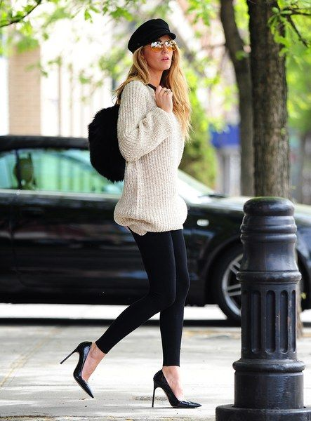 Blake Lively: Sexy pour un shooting à New York - aufeminin