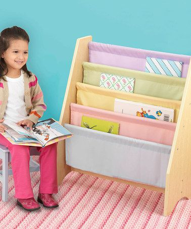 Pastel Colours Slings Book Rack by KidKraft